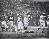 Chuck Bednarik Philadelphia Eagles  with &quot;HOF 67&quot; Inscription