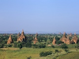 Buddhist Temples  Bagan (Pagan) Archaeological Site  Myanmar (Burma)  Asia