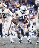 Larry Csonka Miami Dolphins  with HOF 87 Inscription