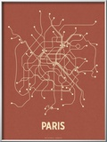 Paris (Brick Red & Tan)
