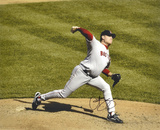 Curt Schilling Boston Red Sox - On the Mound Autographed Photo (Hand Signed Collectable)