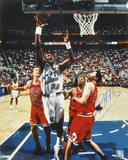 Karl Malone Utah Jazz - Purple Autographed Photo (Hand Signed Collectable)