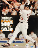 Eddie Murray Baltimore Orioles 500th Home Run Autographed Photo (Hand Signed Collectable)