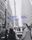 Tom Seaver &amp; Jerry Koosman New York Mets  Parade with Inscription &quot;69 WS CHAMPS&quot;