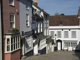 Cobbled Street in Old Lymington  Hampshire  England  United Kingdom  Europe
