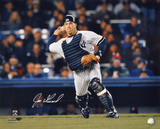 Joe Girardi New York Yankees - Action Autographed Photo (Hand Signed Collectable)