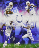 Marvin Harrison Indianapolis Colts - 88 Collage Autographed Photo (Hand Signed Collectable)