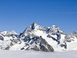 Monte Rosa Massif From Gronergrat  Switzerland  Europe