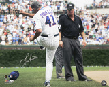 Lou Piniella Chicago Cubs Tirade Autographed Photo (Hand Signed Collectable)