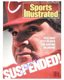 Pete Rose Cincinnati Reds 1988 Sports Illustrated Cover Autographed Photo (Hand Signed Collectable)