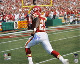 Larry Johnson Kansas City Chiefs - Action Autographed Photo (Hand Signed Collectable)
