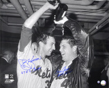 Tom Seaver &amp; Jerry Koosman New York Mets  Champagne with Inscription &quot;69 WS CHAMPS&quot;