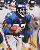 Ron Dayne New York Giants Autographed Photo (Hand Signed Collectable)