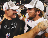 Bill Cowher and Ben Roethlisberger Pittsburgh Steelers - Super Bowl
