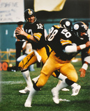 Terry Bradshaw PittsburgSteelers -Drop Back- Autographed Photo (Hand Signed Collectable)