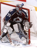 Patrick Roy  with HOF 2006 Inscription