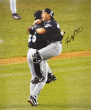 Ivan 'Pudge' Rodriguez Miami Marlins Autographed Photo (Hand Signed Collectable)