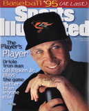 Cal Ripken Jr Baltimore Orioles Sports Illustrated Autographed Photo (Hand Signed Collectable)