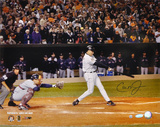 Cal Ripken Jr Baltimore Orioles - Last At Bat Autographed Photo (Hand Signed Collectable)