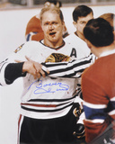 Bobby Hull Chicago Blackhawks with The Golden Jet  Autographed Photo (Hand Signed Collectable)