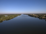 Zambesi River  Zambia  Africa