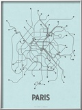 Paris (Light Blue & Dark Gray)