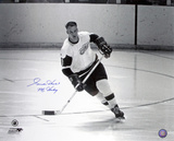 Gordie Howe - Detroit Red Wings with Mr Hockey  Autographed Photo (Hand Signed Collectable)