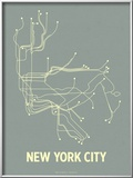 New York City (Steel Blue &amp; Yellow)