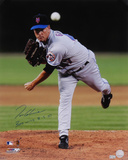 Tom Glavine New York Mets with 300 Win 8-5-07  Autographed Photo (Hand Signed Collectable)
