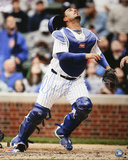 Geovany Soto Chicago Cubs Catching Autographed Photo (Hand Signed Collectable)