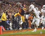 Reggie Bush USC Trojans - Dive Into End Zone vs TexasAutographed Photo (Hand Signed Collectable)