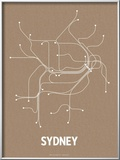 Sydney (Packing Brown &amp; White)