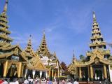 Shwe Dagon Pagoda (Shwedagon Paya)  Yangon (Rangoon)  Myanmar (Burma)  Asia