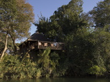 Lunga River Lodge  Kafue National Park  Zambia  Africa