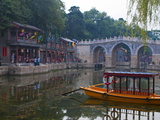 Suzhou Market Street at the Summer Palace Or Yihe Yuan  Bejing  China  Asia