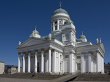 The Lutheran Cathedral  Senate Square  Helsinki  Finland  Scandinavia  Europe