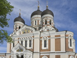 Alexander Nevsky Orthodox Cathedral  Tallin  Estonia  Baltic States  Europe