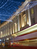 Christmas Lights  Regents Street  London  England  United Kingdom  Europe
