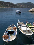 Harbour at Kalkan  a Popular Tourist Resort  Antalya Province  Anatolia  Turkey