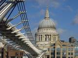 The Dome of St Pauls Cathedral  London  England  United Kingdom  Europe