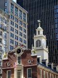 Old State House  Boston  Massachusetts  New England  USA