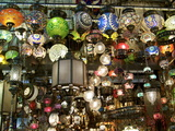 Lamps  Grand Bazaar  Istanbul  Turkey  Europe