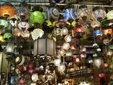 Lamps  Grand Bazaar  Istanbul  Turkey  Europe