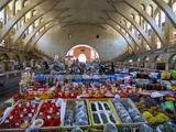 The Covered Bazaar of Yerevan  Armenia  Caucasus  Central Asia  Asia