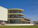 Outdoor Stage For Performances and Exterior Architecture  the De La Warr Pavilion  East Sussex