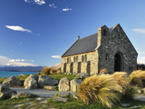 Church of the Good Shepherd  Lake Tekapo  Canterbury  South Island  New Zealand  Pacific