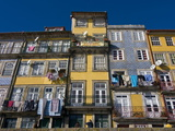 Old Houses in the Old Town of Oporto  UNESCO World Heritage Site  Portugal  Europe