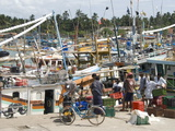 Fishing Harbour  Built With US Aid After the 2004 Tsunami  Purunawella  South Coast of Sri Lanka
