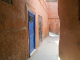 Street in the Souk in the Medina  UNESCO World Heritage Site  Marrakech  Morocco  North Africa