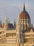 The Neo-Gothic Hungarian Parliament Building  Designed By Imre Steindl  Budapest  Hungary